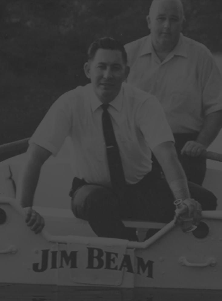 Jim Beam boat